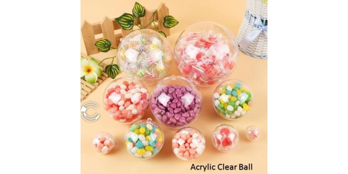 Acrylic Fillable Ball