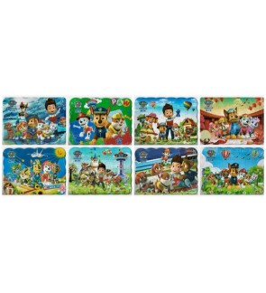 [Clearance of Defect Stock] (1 Set - 4pcs) Clearance Cosmetic Defect Kid Paw Patrol Puzzle White Spot Model A6
