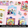 [Ready Stock] (1pack-28pcs)(2-7cm) Kid Cartoon Small Sticker Boy Girl Glitter Diary DIY Cartoon Decorative Scrapbooking