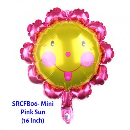 [Ready Stock] (1 Piece) Small Size Sun Shooting Star Rainbow Blue Cloud Weather Theme Foil Balloon Wall Decoration