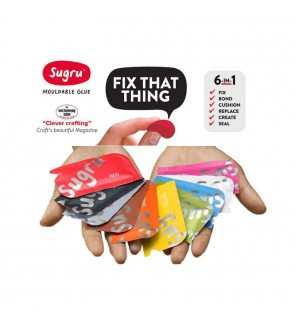 [Ready Stock] (1pcs) Sugru Moldable Glue - Original Formula Multi Color New Pack