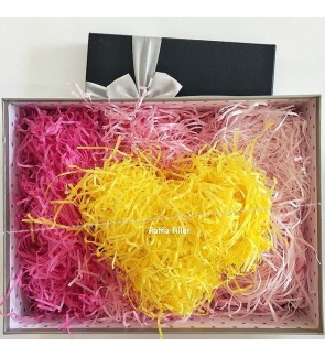 [Ready Stock] 100g/pack (Without Box) Colorful Shredded Paper Raffia Party Gift Candy Box Filler Eco-Friendly