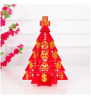 [Ready Stock] Chinese New Year 3D Creative Decorations DIY Lucky Tree 新年创意装饰发财树