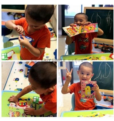 [Ready Stock] (5 pieces Random Pick) EVA DIY Craft Kits - Animal Foam Sticker DIY Craft Kits Cartoon Gift Education