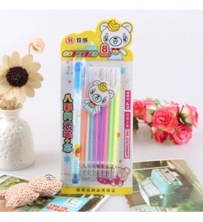 [Ready Stock] Smooth Water Chalk Gel Pen Scrapbooking Stationery Gift Kid