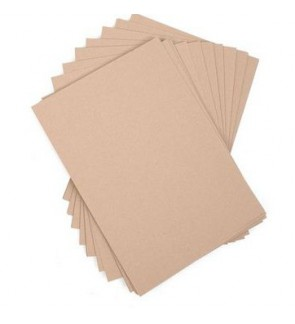 [READY STOCK] A4 Brown Kraft Paper Card Stationery DIY Craft Tag 160/230/300gsm