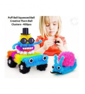 [Ready Stock] Puff Ball Squeezed Ball Creative Thorn Ball Clusters (3D Puzzle)
