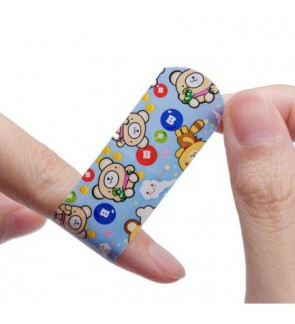 [Ready Stock]Waterproof Breathable Cartoon First Aid Bandages 10 Strips Plasters