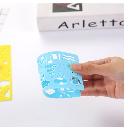 [Ready Stock]Painting Embossing Paper Crafts Scrapbook DIY Card Plastic Stencils