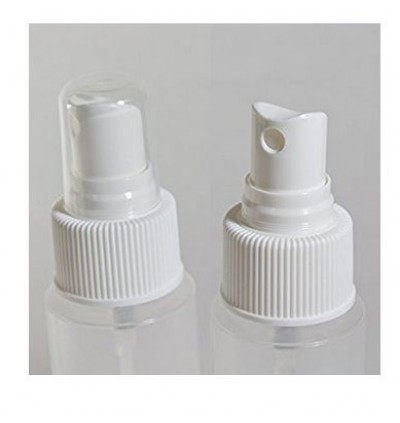 [Ready Stock]2pcs 305080ml Transparent Spray PET Bottle Travel Perfume Container