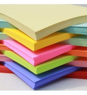 [Ready Stock] A4 70/120/180gsm Printable Art Craft Color Copy Paper 10 Colours