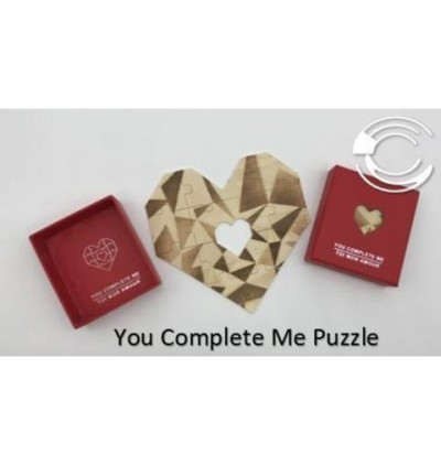 [ Ready Stock]️Creative Valentine Gift You Complete Me Puzzle (爱的拼图-你使我完整)
