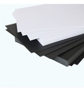 [Ready Stock] A4 White OR Black Craft Paper Card Stationery DIY 120/180/230GSM