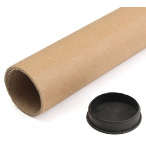 [Ready Stock] Cardboard Post Tubes End Caps Poster Wallpaper Mailing Shipping