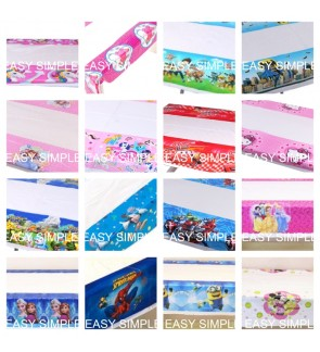 Kid Cartoon Birthday Party Decoration Table Cover Plastics Table Cloth Cover