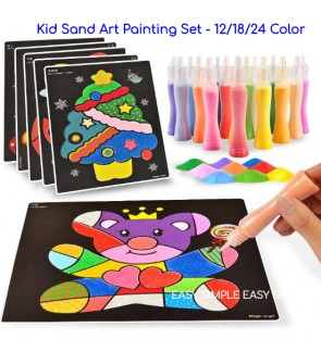 Colored Sand Art for Kids Educational Drawing Painting Set Early Educational