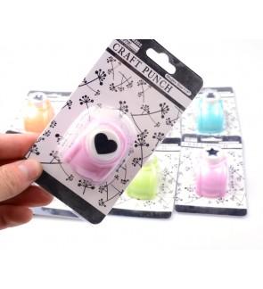Medium Size Shaper Scrapbook Portable Hole Puncher DIY Paper Cards Craft