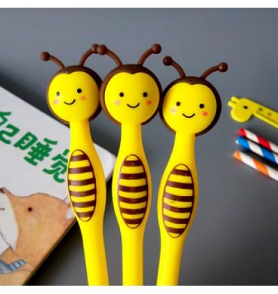 [Ready Stock] (Random 1 Piece) School Office Stationery Gift Party Cute Kid Pink 3D BallPoint Pen