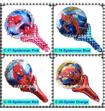 [Ready Stock] Hand Held Aluminium Foil Balloon Kid Boy Party Decoration Gift