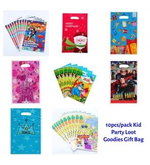 [Ready Stock] 10pcs/pack Kid Party Loot Goodies Gift Bag SuperHero PVC Treat Mix