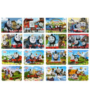 [Ready Stock] 40Pcs Thomas And Friends Kids Puzzle Cute Boy Birthday Gift