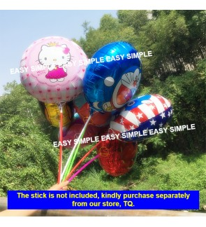 [Ready Stock] 18 Inch Aluminium Foil Balloon Happy Birthday Party Model Balloons