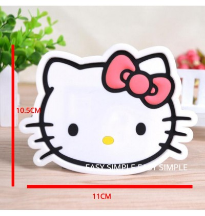 [Ready Stock] PVC Silicone Cartoon Cup Coaster Nonslip Place Mat Pads Cup Cushion