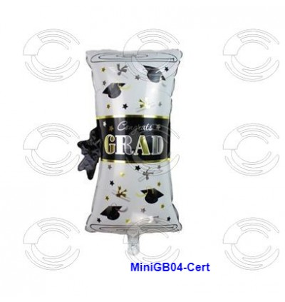 [Ready Stock] 16 Inch Mini Graduate Celebration Aluminium Foil Balloon