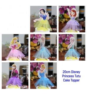 [Ready Stock] Disney Princess Tutu Dress Cupcake Girl Birthday Party Deco Supply