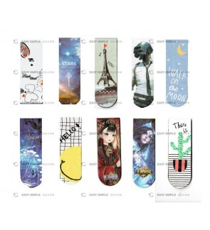 [Ready Stock] (2pcs) Creative Cartoon Magnetic Bookmark Stationery Gift Party