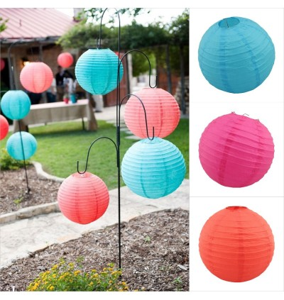 [Ready Stock]20cm Beautiful DIY Paper Lantern Home Decor Party Wedding Bamboo