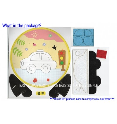 [Ready Stock] Kid DIY Korea Style Self Adhesive Painting Craft Kits Holiday Fun