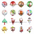 [Ready Stock] Wall Merry Christmas Aluminium Foil Balloon Kid Party Decoration Gift