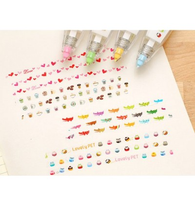 Cute Novelty Decoration Tape DIY Decoration Painting Pen Correction Patterns