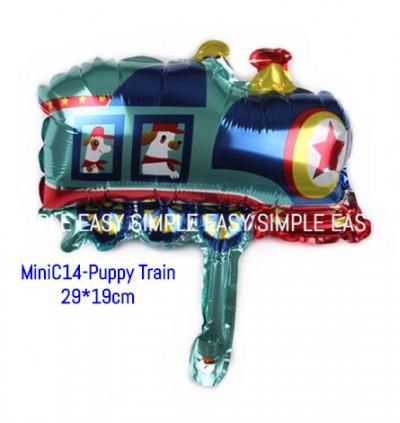 [Ready Stock] (1pc) Mini Cars Transportation Vehicle Foil Balloon Birthday Children Days Celebration