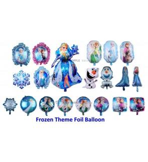 [Ready Stock] Frozen Theme Aluminium Foil Balloon Kid Party Decoration Gift