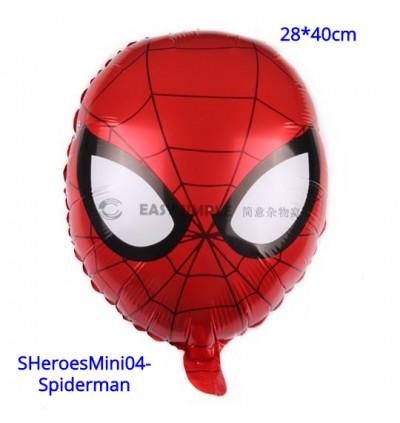 [Ready Stock] Mini Small Size Super Heroes Theme Foil Balloon Boy Birthday Party Decoration