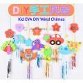 [Ready Stock] Kid EVA DIY Wind Chimes Handmade Art Craft Education Toy Hanging
