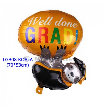 [Ready Stock] (1 Piece) Large Size Graduation Balloon Graduate Party  Wall Drops Decoration