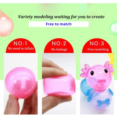 [Ready Stock] Ocean Animal Theme Combination Model Toy Kid DIY Handmade Creative Sticky Ball No Need To Inflate