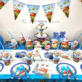 [Ready Stock]Super Wings Cartoon Theme Birthday Party Decoration Tableware Banner