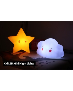 [Ready Stock] (1 Piece) Baby Kid Room Sleeping LED Night Light Bed Table Lamp Plastics PVC Light-Up Toys