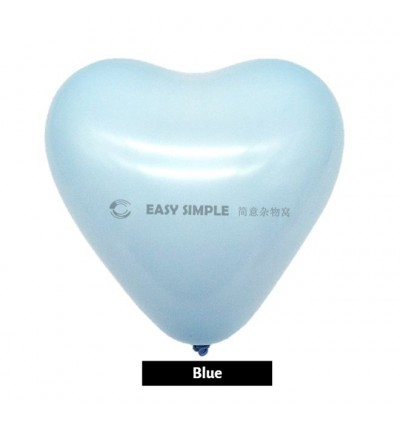 [Ready Stock] (10pcs) 12Inch 2.2g Macaron Pastel Heart Love Shape Latex Balloon Party Decoration