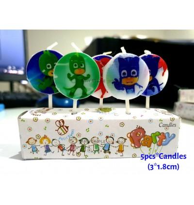 [Ready Stock] PJ Masks Catboy Owlett Theme Boy Heroes Birthday Party Disposable Tableware Plate
