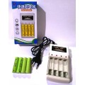 [Ready Stock] Mini Fast Quick Charger Rechargeable 4 Slot AAA AA Charger Battery