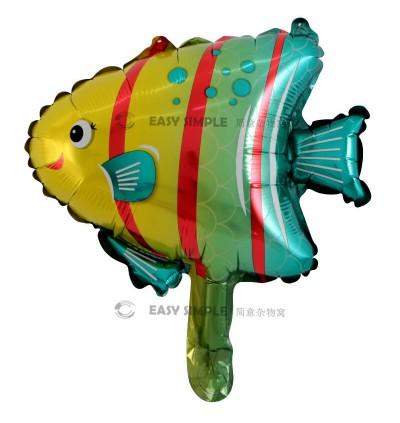 [Ready Stock] (1 Piece) Small 16 Inch Mini Ocean Sea Animal Theme Foil Balloon Shark