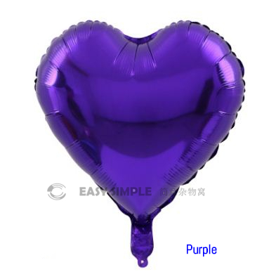 [Ready Stock] (1pc) 18Inch Love Heart Shape Foil Balloon Valentine Party Decoration