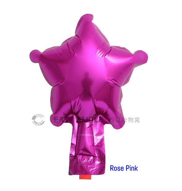 [Ready Stock] (5pcs) 5 Inch Star Shape Foil Balloon Birthday Party Decoration