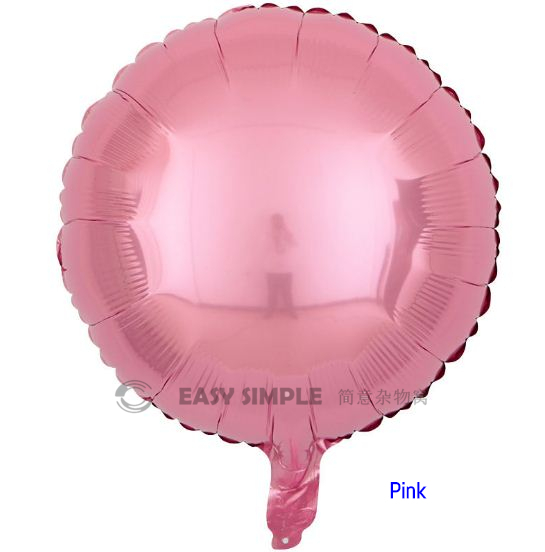 [Ready Stock] (1pc) 18 Inch Round Shape Foil Balloon Birthday Party Decoration
